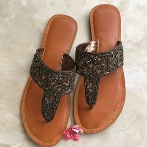 Beaded Sandals by not rated Size 10